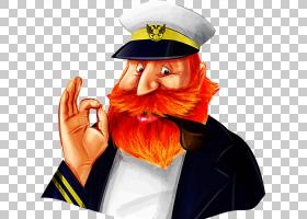 胡子图标,胡子船长PNG剪贴画白色,帽子,人民,卡通胡子,船长,免版