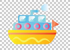 船舶船只卡通,卡通黄色游轮PNG剪贴画卡通人物,文本,矩形,橙色,生