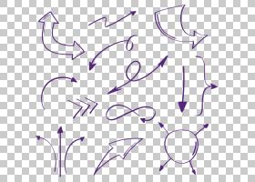 绘图箭头,紫色画箭头集合PNG剪贴画水彩画,角度,白色,画,紫罗兰色