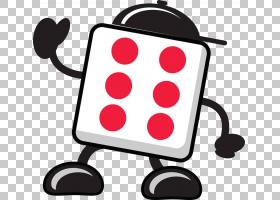 绘图骰子摄影,手绘卡通骰子PNG剪贴画水彩绘画,卡通人物,游戏,画,