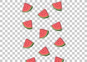 绘画艺术,西瓜PNG剪贴画食品,甜瓜,卡通,水果,当代艺术,水果坚果,