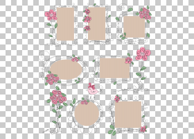 花海滩玫瑰欧几里德,玫瑰边境PNG剪贴画帧,摄影,矩形,生日快乐矢