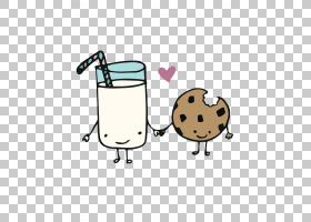 花生牛奶巧克力曲奇饼干Pignolo巧克力牛奶,一口饼干和牛奶PNG剪