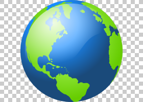 地球地球内容,卡通行星地球PNG剪贴画全球,世界,球,网站,地球,动