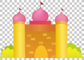 城堡,城堡材料PNG剪贴画漫画,png材料,国旗,海报,生日快乐矢量图