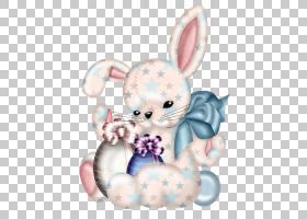 复活节兔子兔子,可爱的兔子PNG剪贴画白色,画,动物,手,语音气球,