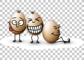 复活节兔子蛋卡通,有趣的蛋搞笑设计PNG剪贴画食物,模式,破蛋,复