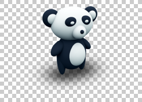 大熊猫熊图标,熊猫PNG剪贴画动物,carnivoran,电脑壁纸,动物,可爱