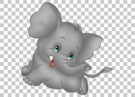 大象卡通,灰色大象卡通,灰色大象PNG剪贴画哺乳动物,猫像哺乳动物