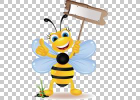 大黄蜂股票摄影,可爱的蜜蜂PNG剪贴画蜜蜂,简单,昆虫,卡通,免版税