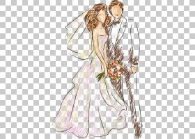 婚礼,婚礼,新娘和新郎PNG剪贴画结婚周年,假期,人,婚礼邀请,生日