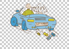 婚礼新郎仪式,精美婚车PNG剪贴画结婚周年纪念,标签,摄影,汽车,婚