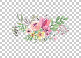 婚礼邀请母亲节全国祖父母节,水彩花卉,什锦,彩色花朵画,什锦,彩