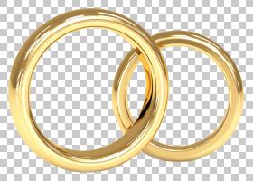 婚礼邀请结婚戒指订婚戒指,戒指珠宝卡通材料PNG剪贴画爱,卡通人