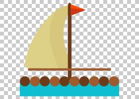 帆可缩放图形图标,帆PNG剪贴画角,三角形,卡通,运输,封装PostScri