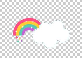 彩虹云文档文件格式卡通,卡通可爱云彩虹,彩虹和云PNG剪贴画卡通