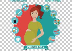 怀孕营养饮食婴儿,怀孕饮食考虑因素PNG剪贴画杂项,蓝色,文本,虚