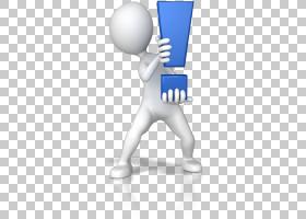感叹号计算机动画问号,动画PNG剪贴画3D计算机图形学,文本,手,计