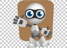 机器人欧几里德,卡通机器人PNG剪贴画卡通人物,电子产品,生日快乐