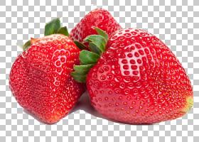 果汁冰沙草莓果蔬菜,食物手,绘制卡通3d,美丽的草莓果实PNG剪贴画