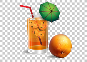 橙汁饮料水果,玻璃饮料与水果PNG剪贴画玻璃,橙色,橙色饮料,卡通,