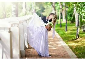 女人,新娘,爱,浪漫的,婚礼,新郎,情绪,壁纸,