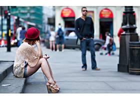 女人,情绪,地方,位置,风格,城市,人,壁纸,
