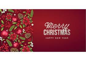圣诞节创意个性装饰元素背景图片