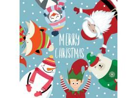 圣诞节创意个性装饰元素背景