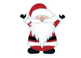 圣诞老人创意个性装饰元素背景