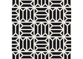 时尚简约现代几何无缝装饰图案