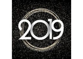 2019新年元素装饰图案设计