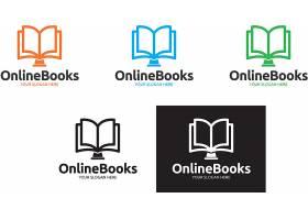 书籍读书形象创意LOGO设计图片