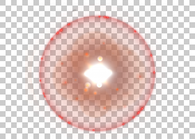 Light Halo Euclidean,装饰光环材料PNG剪贴画装饰,橙色,生日快乐
