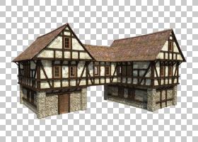 Minecraft中世纪庄园住宅门楼,联排别墅设计PNG剪贴画建筑,房屋,