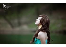 女人,箫,年轻人,模型,中国,壁纸,(1)图片