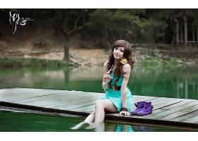 女人,箫,年轻人,模型,中国,壁纸,(2)图片