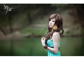 女人,箫,年轻人,模型,中国,壁纸,(6)图片