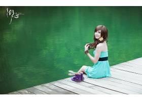 女人,箫,年轻人,模型,中国,壁纸,(8)图片