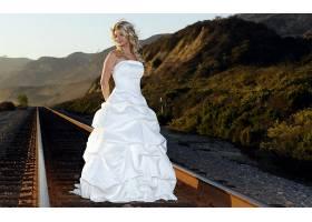 女人,新娘,妇女,女孩,模型,时尚,壁纸,