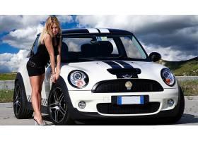 女人,女孩,汽车,壁纸,(57)