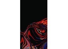 H5炫彩流动立体背景图片