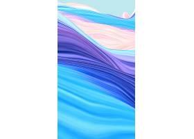 H5炫彩流动质感背景图片