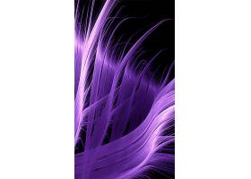 H5炫彩紫色丝状背景图片