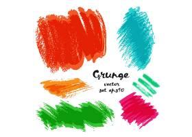 五颜六色的笔墨笔痕涂鸦装饰图案素材