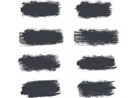 多款笔墨笔痕涂鸦装饰图案素材
