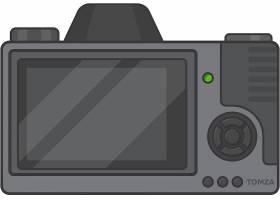 数码相机产品矢量设计