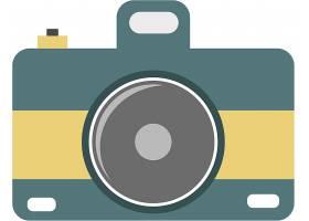 简洁扁平化单反数码相机智能产品设计
