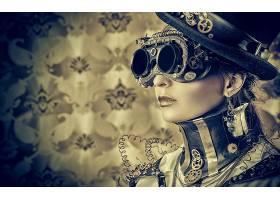 女人,蒸汽朋克,壁纸,