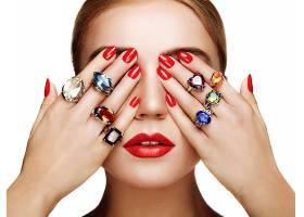 女人,脸,妇女,戒指,手,肖像,珠宝,壁纸,